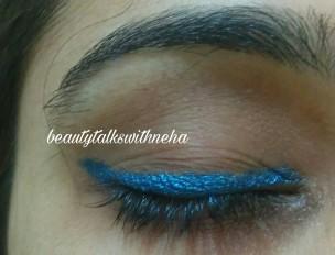 LAKMÉ ABSOLUTE FOREVER SILK EYELINER Shade Blue Cosmos