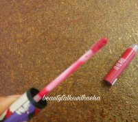 StreetWear™ Color Rich Mega Shine Lip Gloss Shade Party Melon Review and Swatches.