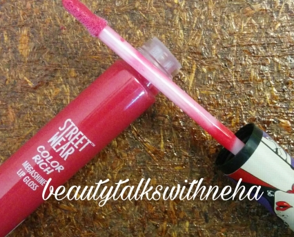 StreetWear™ Color Rich Mega Shine Lip Gloss Shade Party Melon