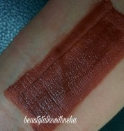 Lakmé 9to5 Mousse Lip & Cheek Color Shade Cocoa Soft Review and Swatches.