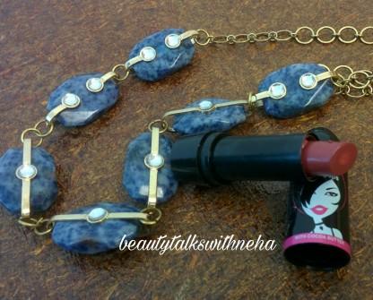 Elle18 Color pops pomegranate pie lipstick
