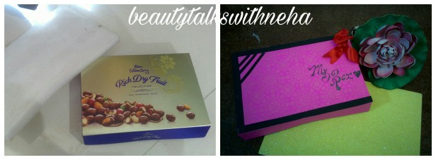DIY:Best out of waste:How to make Earrings box with unused chocolate box.