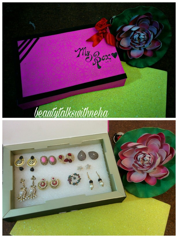 DIY:Best out of waste how to make earrings box