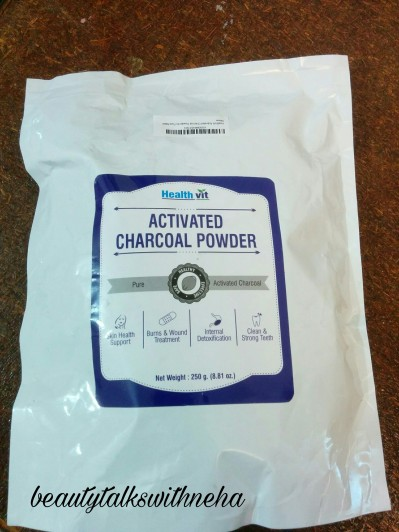 Healthvit Activated Charchol Powder Review :First Impression