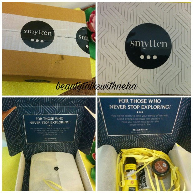 Smytten Free Sample Box Unboxing and First Impression