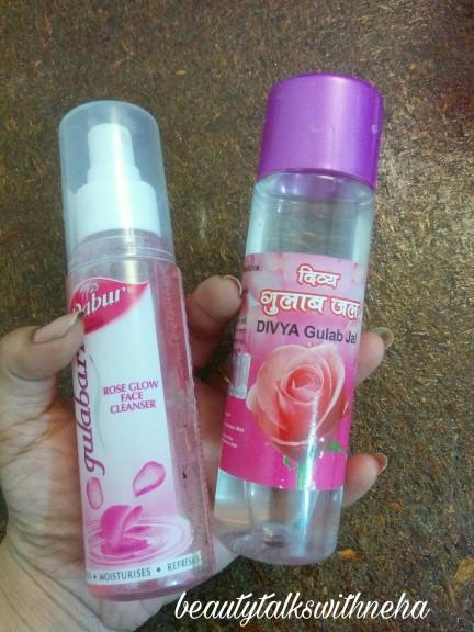 Dabur Gulabari or Patanjali Divya Gulabjal: Comparison review.