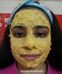 Review:Orange peel powder scrub and Sandalwood face pack from Shwetakapoor_Ideas_Instagram.