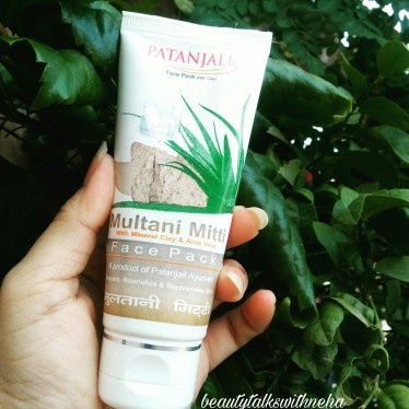 Patanjali Multani Mitti with mineral clay and aloe vera  Face Pack Review