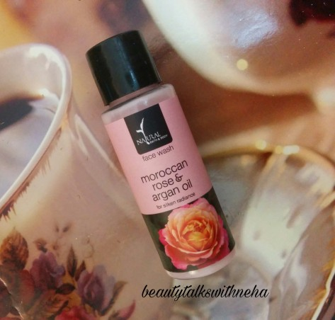 Natural Bath and Body Moroccan Rose & Argan oil Face wash Review