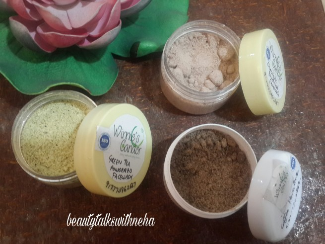 Review:Winnie's Candor Face Wash and Face Pack .